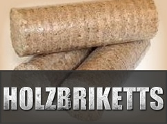 Holzbriketts
