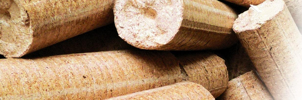 Herstellung von Holzbriketts