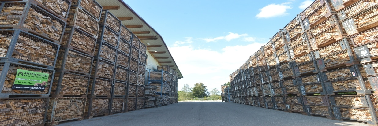 Herstellung von Kamin- und Brennholz