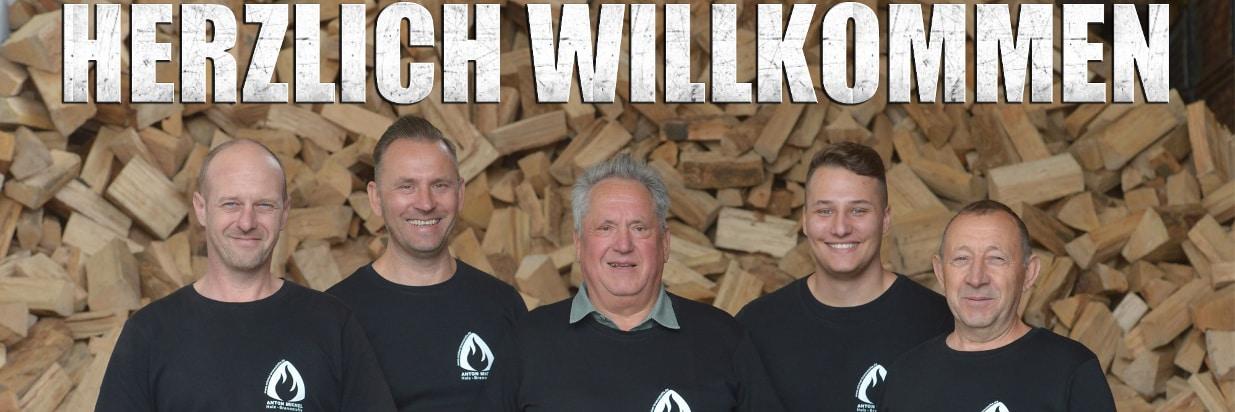 Abholmarkt für Brennholz und Holz Brennstoffe