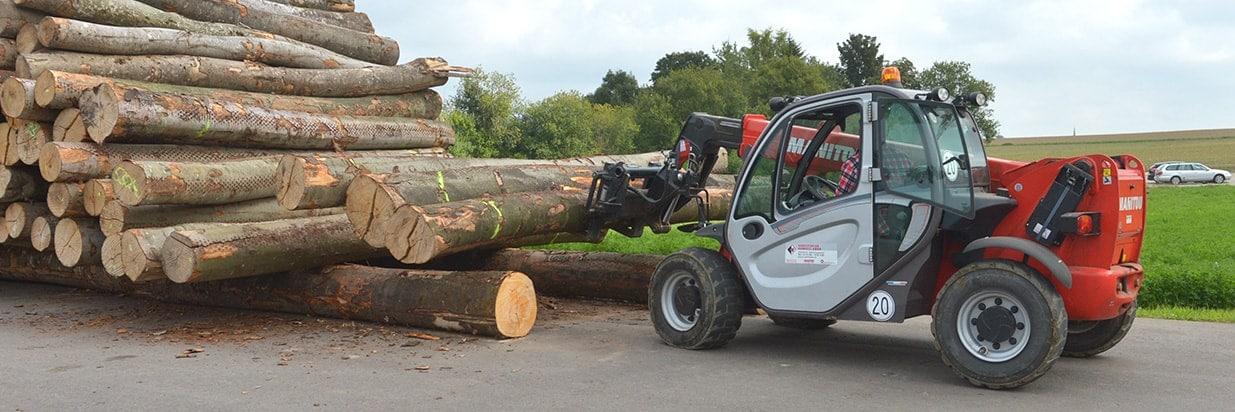 Herstellung der Holzbrennstoffe bei Brennholz Michel